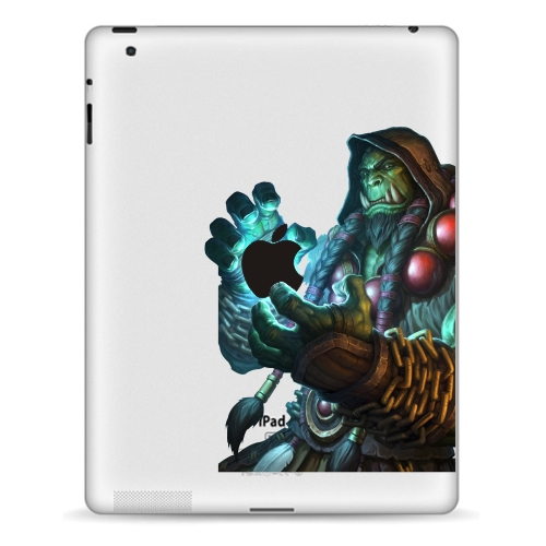 YCSTICKER - Tablet Partial Sticker Vinyl Decal Warcraft Painting Protective Skin For iPa ...