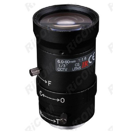 1/3 CS Surveillance camera SD 6-60mm Manual Iris IR Lens как бесконечные патроны в cs 1 6 зомби