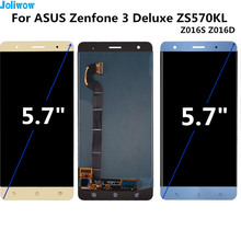 For ASUS Zenfone 3 Deluxe Z016S Z016D ZS570KL Touch screen+LCD display integrated components Digitizer Assembly for ZS570KL LCD цена и фото