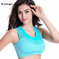 LongKeeper Top Crop Top Inners for Women Female Bra With Padded Ladies Fake Two-piece Push-up Bras T317