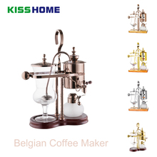 Belgian Coffee Maker Household Belgium Kettle Royal Siphon Coffee Machine Distillation coffee Suit Drip type Manual Pot