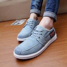 20% OFF Autumn Spring New Fashion Men Shoes Men's Denim Canvas Shoes Casual Breathable Shoes Flat Shoes