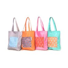 Hot Sale 2019 New Foldable Portable Reusable Tote Pouch Recycle Storage Handbag Handy Shopping Bag