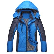 SRTM  Mens outdoor sport Waterproof Windproof Jackets Spring Autumn Windbreaker Hooded Male Women Coats Brand Clothing