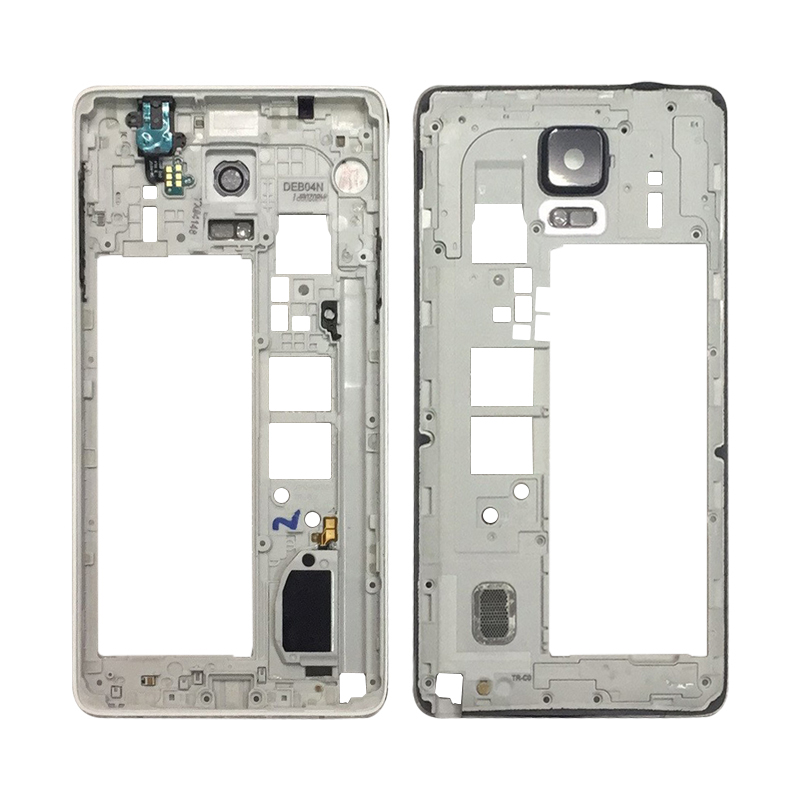 Middle Frame for Samsung Galaxy Note 4 N9100 Dual Card Middle Housing Screen Plate Repair Part Free Shipping-in Mobile Phone Housings from Cellphones & Telecommunications on Aliexpress.com | Alibaba Group