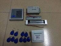 Full RFID Door Access Control System Kit Set Electric Magnetic Lock + Proximity Door Entry keypad
