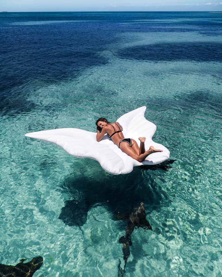 250cm 98inch Giant Butterfly Wings Air Mattress Angel