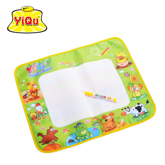 Drawing Mat 4 Color Magic Pen Baby Drawing Sheet Kids Learning ...