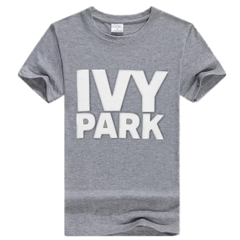 7487c144f17c6 2017Fashion Style Beyonce T Shirt Women Ivy Park Letter Print Summer Tops  Cotton Short Sleeve Woman T Shirt Feminina S XXXL-in T-Shirts from Women s  ...