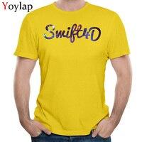YOYLAP Cotton Men Short Sleeve T Shirt Design Tops T Shirt 2017 Popular Birthday Crewneck Tee