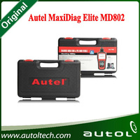 100% Original Autel Maxidiag Elite MD802 OBD2 Scan Tools Code Scanner for All System