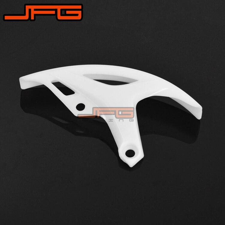 Новые пластиковые заднего тормозного диска гвардии защитная крышка для 10-12 CRF250R CRF450R 2009 2010 2011 2012 мотоцикл