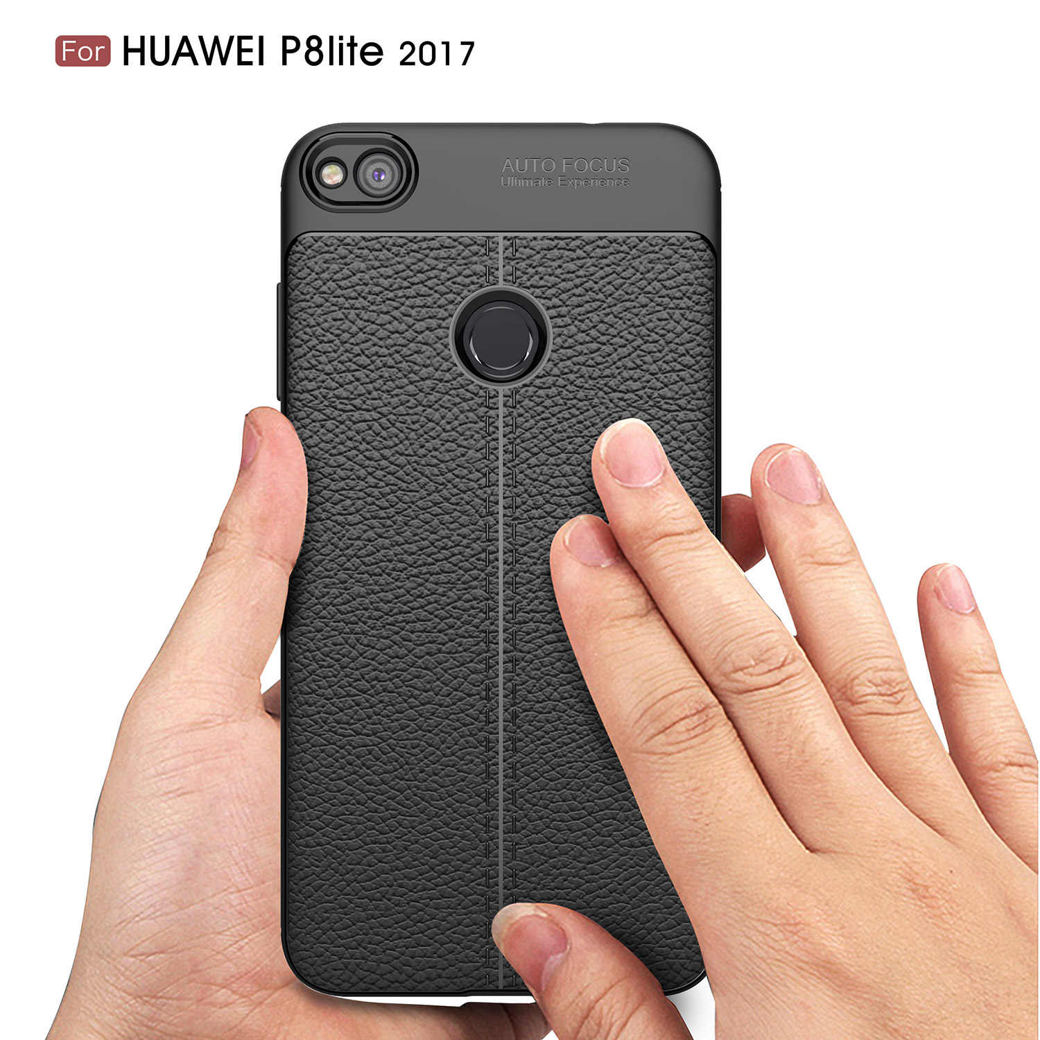 Case for Huawei P8 Lite 2017/ Huawei Honor 8 Lite Leather Style Silicone Case TPU Case Protective Cover Case Luxury fundas coque