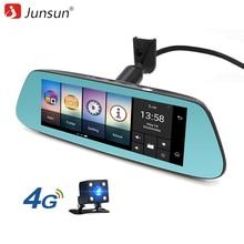 """Junsun 4G Specjalne Lustro Samochodów Rejestratorów Kamery Android 5.1 z GPS Samochodów Video Recorder Kamery Cofania 8 """"Dash Cam"""