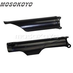 2 шт. мотоциклетная передняя вилка для Honda CR125 CR250 CR500 93-2018 CRF250X CRF250R CRF450R CRF 450 RX супермото пластиковая защита