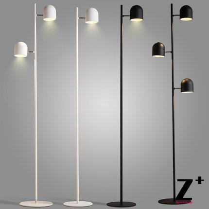US $249.99 |Modern Nordic Design Floor Lamp Led Light Minimalism White  Black Bedroom Living Room Free Shipping-in Floor Lamps from Lights &  Lighting ...
