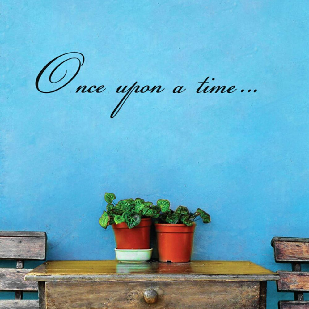 Aliexpress.com : Buy 1PC Once upon a time Wall Stickers ...