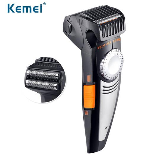 Pro 2 in 1 Multifunction Men Electric Shaver And Hair Trimmer 100-240V 19 Settings Cutti ...