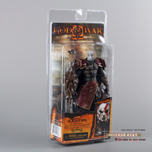 """Haute Qualité NECA Dieu de Guerre 2 II Kratos en Ares Armor W Lames 7 """"PVC Action Figure Jouet Poupée Chritmas Cadeau MVFG147"""
