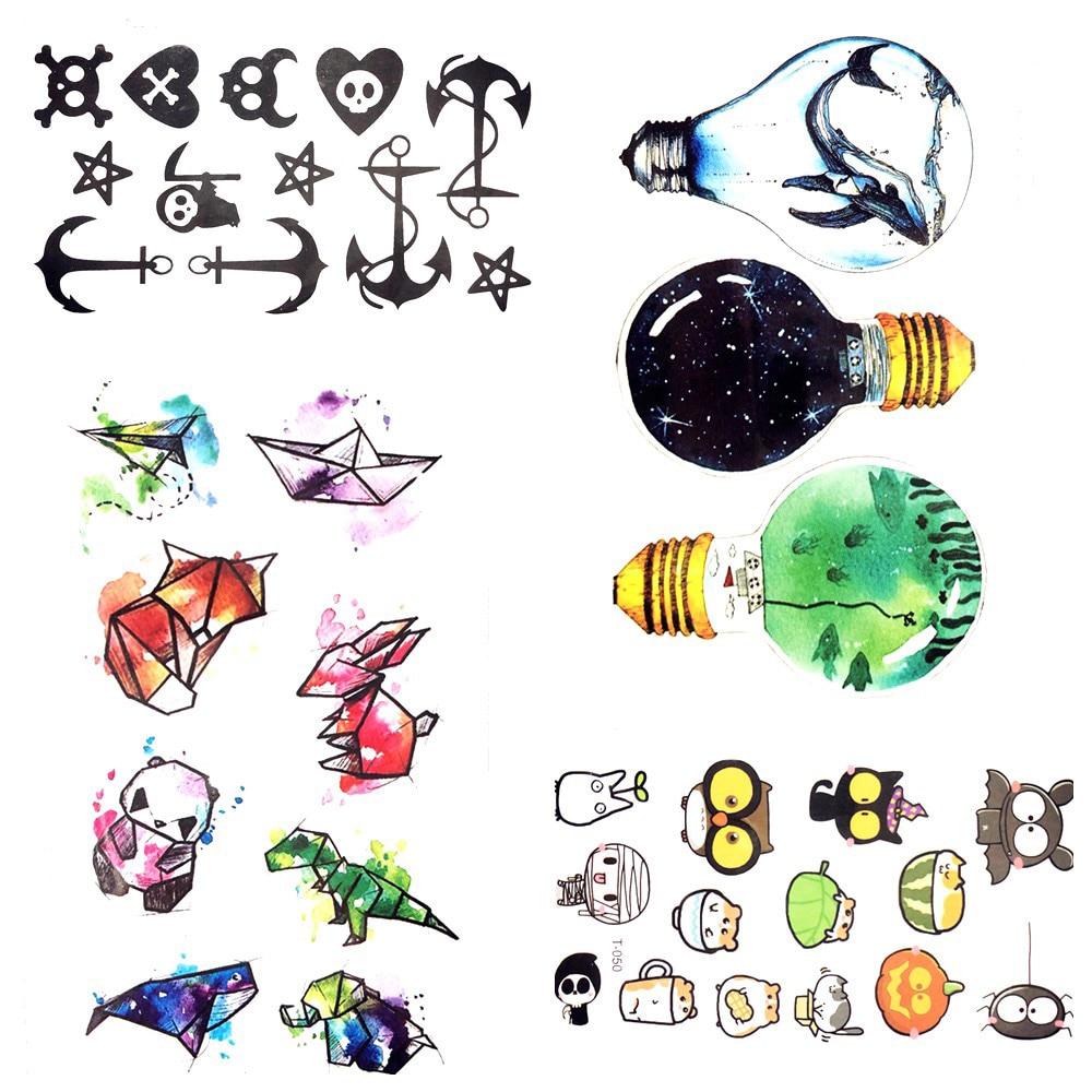 Waterproof Temporary Tattoo Sticker cute dinosaur tattoo children ...