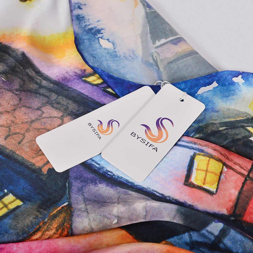 [BYSIFA] di Marca Viola Blu di Seta Dello Scialle Della Sciarpa Delle Signore di Lusso 100% Puro di Seta Lunghe Sciarpe Avvolge Foulard Autunno Inverno delle donne della Sciarpa di Collo