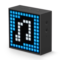 Divoom Timebox mini Portable Bluetooth smart alarm clock speaker with App compatible for IOS Android Xiaomi