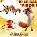 40 cm Muñecos de Peluche El Principito de Le Petit Prince Y el Zorro de Peluche Animales de Peluche Juguetes Educativos de Regalo Para El Cabrito F009