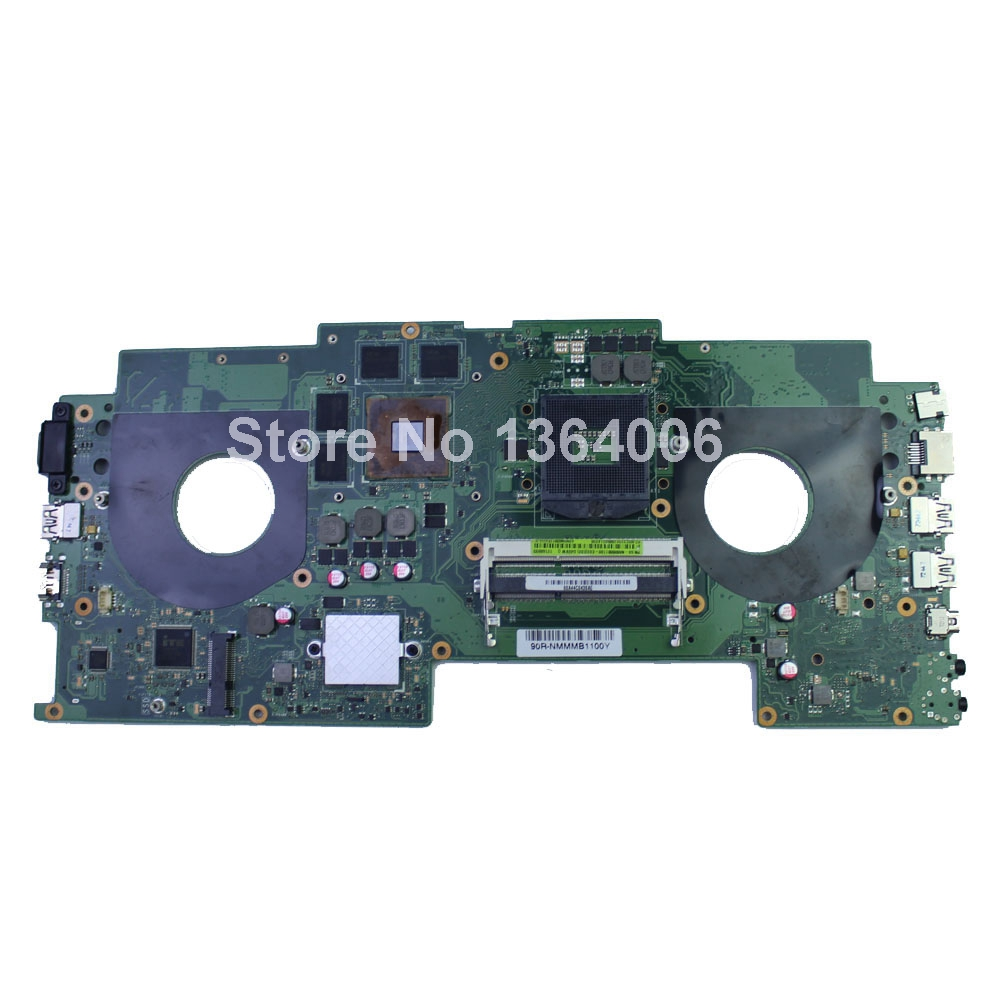 G46VW For Asus Intel s989 60NMMMB1100C08 or 60-NMMMB1100-C08 Laptop Mainboard Sytstem board Motherboard f95
