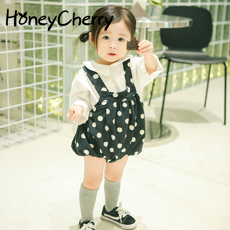 New Children's Trousers Suspenders For Fall 2019 Infant Baby Girl   Shorts   Baby Striped Bottoms Trousers Bloomers Baby Girl