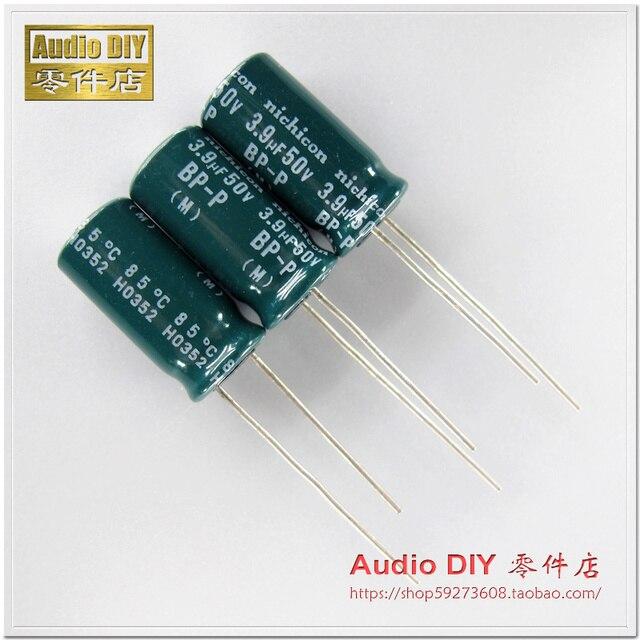 8ea5c96aca 2018 hot sale 30PCS Nichicon older BP-P(DB) 3.9uF 50V nonpolar electrolytic  capacitors for audio FREE SHIPPING