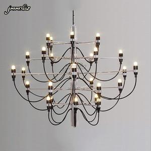 Image 3 - Jmmxiuz Modern home decorationa lamps 18/30/50 gold / silver Gino sarfaitti designed chandeliaer dining room light the room