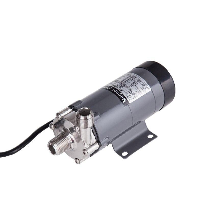 Image 4 - 304 cabeça inoxidável bomba magnética 15r, homebrew, grau  alimentício de alta temperatura resistindo 140c cerveja bomba  acionamento magnético casa brewpump home brewhome brewpump brew -