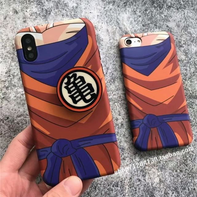 Dragon Ball Super Son Goku soft silicon cover case for iphone Models