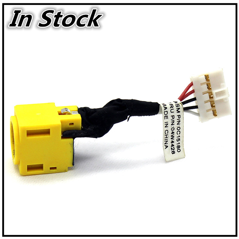 New Laptop DC Jack Charging Connector Port Power Socket For <font><b>Lenovo</b></font> ThinkPad <font><b>T430U</b></font> image