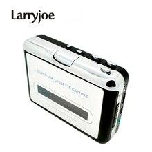 Larryjoe Nieuwe USB cassette capture Speler, Tape naar PC, Super Portable USB Cassette to MP3 Converter Capture met Retail Pakket