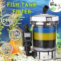 Aquarium Filter Fish Tank Filter Ultra quiet External Aquarium Filter Bucket 220 240V EW 604 EW 604 B Aquarium Sponge Accessory
