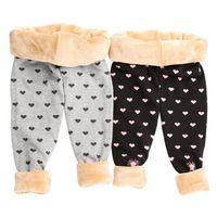 Girls Leggings Pants high quality Winter 2018 Thickening Cotton Fleece Children's Warm Long Trousers Kids Winter Legging Girl