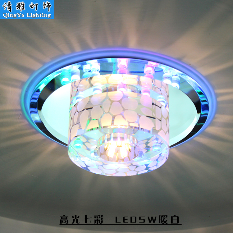 creative entrance hall genuine 2017 Aisle lights corridor lamp LED crystal lamp lighting modern minimalist lighting japanese style tatami floor lamp aisle lights entrance corridor lights wood ceiling fixtures tatami wood ceiling aisle promotion