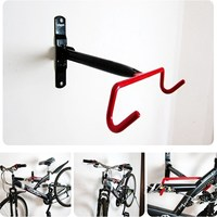 Convenient Practical Bicycle Wall Rack Bike Frame Display Wall Mounted Bike Hanging Tool Cargo Racks Accessories