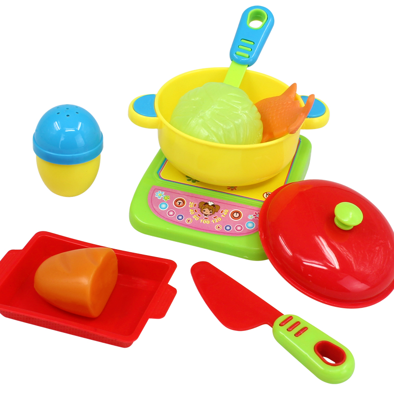 role play kitchen accessories cooking class children pretend kitchen 4855