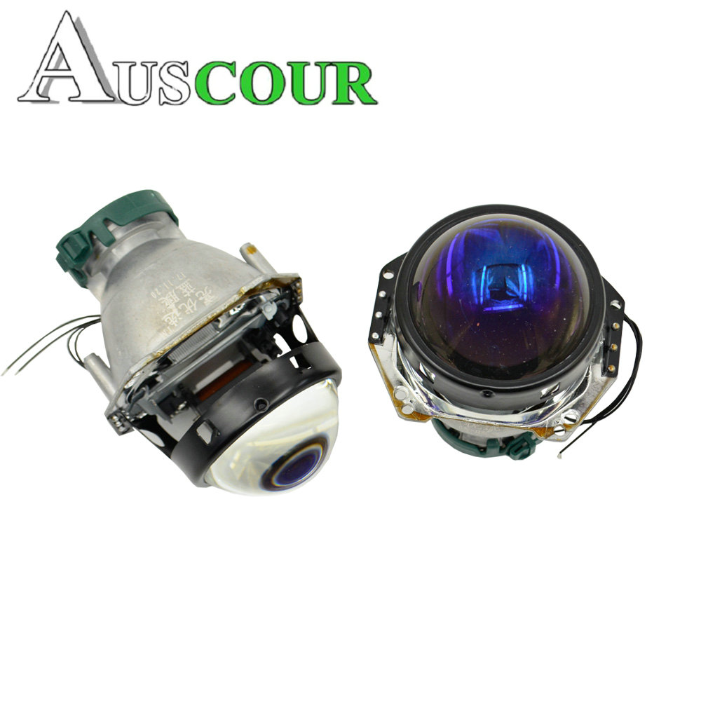 NEW VERSION HELLA 5 bixenon hid car projector lens with blue coating 3.0 inch car headlight metal holder D1S D2S D3S D4S Modify 3 0 inch hella 5 car bixenon hid projector lens metal holder for d1s d2s d3s d4s hid xenon kit headlight car assembly headlight