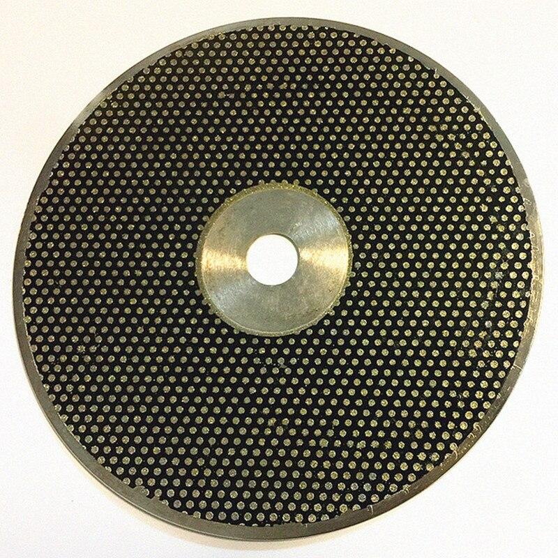 1 PC disque diamant de laboratoire dentaire pour modèle tondeuse sur modèle travail de nettoyage diamètre 250mm (10 pouces), diamètre intérieur: 25mm et 32mm