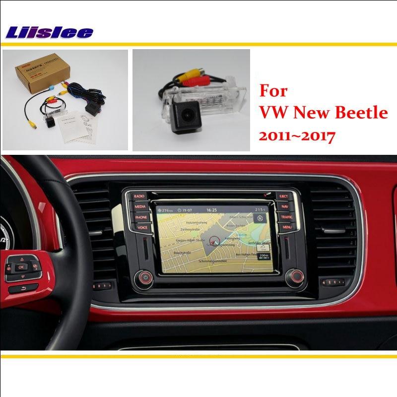 Liislee Car Back Up Reverse Parking Camera For Volkswagen VW New Beetle 2011~2017 / RCA & Original Screen Compatible Rear Camera