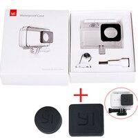 For Original Xiaomi YI 4K Waterproof Case Diving Housing Lens Cap Housing Lens Cover For Xiaomi