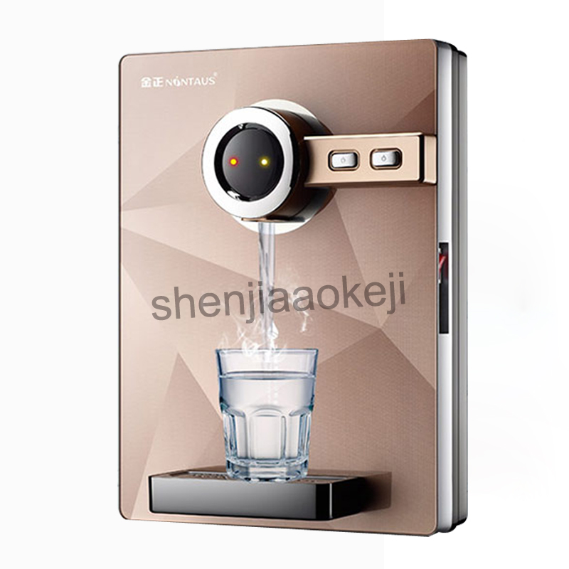 Wall-mounted household office water dispenser Instant hot drinking fountain without bile speed hot water machine 220v 2200w 1pc household hot water purification drinking heating kettle hot water dispenser mini desktop speed hot water bottle filter