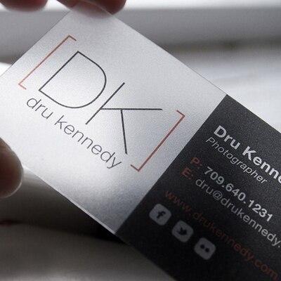 100 pçs/lote personalizado PVC Transparente cartões de visita Personalizado limpar geada/impressão Do Cartão De Negócio