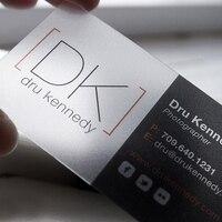 100 pçs/lote personalizado transparente pvc visita cartões personalizado claro/frost cartão de visita impressão|business card printing|card printing|visit card -