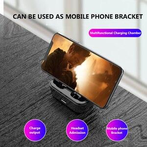 Image 4 - Bluetooth 5,0 Kopfhörer TWS Drahtlose Headphons Freisprecheinrichtung Sport Ohrhörer 3D Stereo Gaming Headset Mit Mic Lade Box