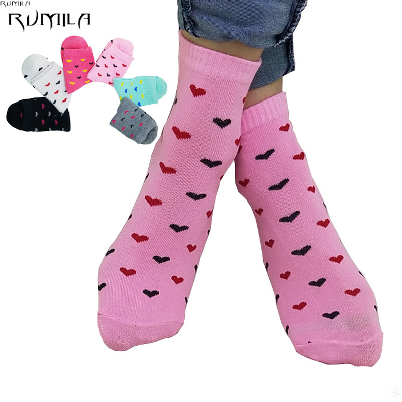 Warm comfortable cotton bamboo fiber girl women's socks ankle low female invisible  color girl boy hosiery  10pair=2pcs WS49