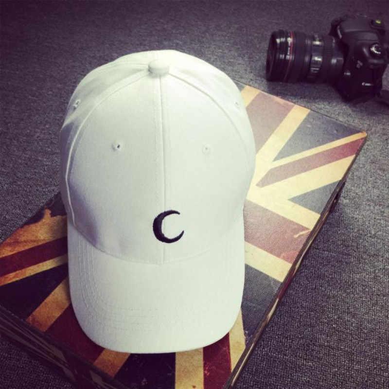 ผู้หญิงเบสบอลหมวกหมวก snapback หมวกหมวกฤดูร้อนหมวกสำหรับหมวกผู้หญิงหมวกฤดูร้อน 2019 พิมพ์ดวงจันทร์ hip hop